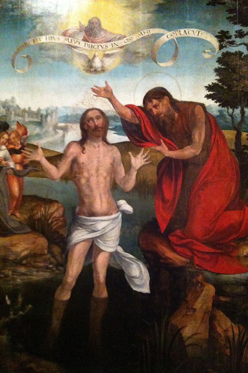 Tableau Le Baptême du Christ