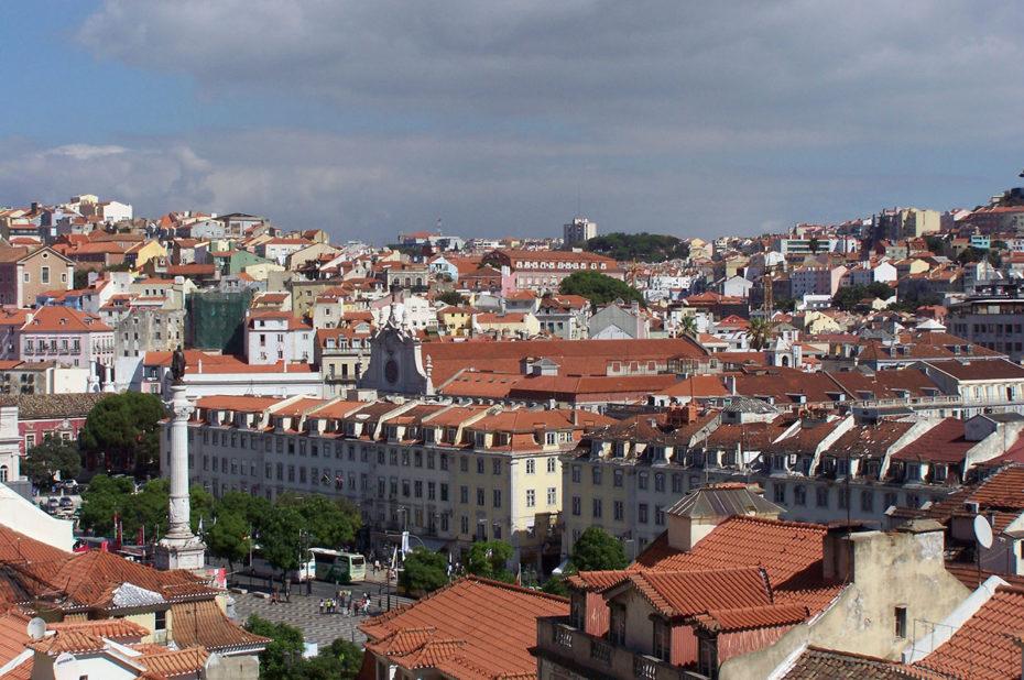 Vue sur Lisbonne depuis le Couvent des Carmes