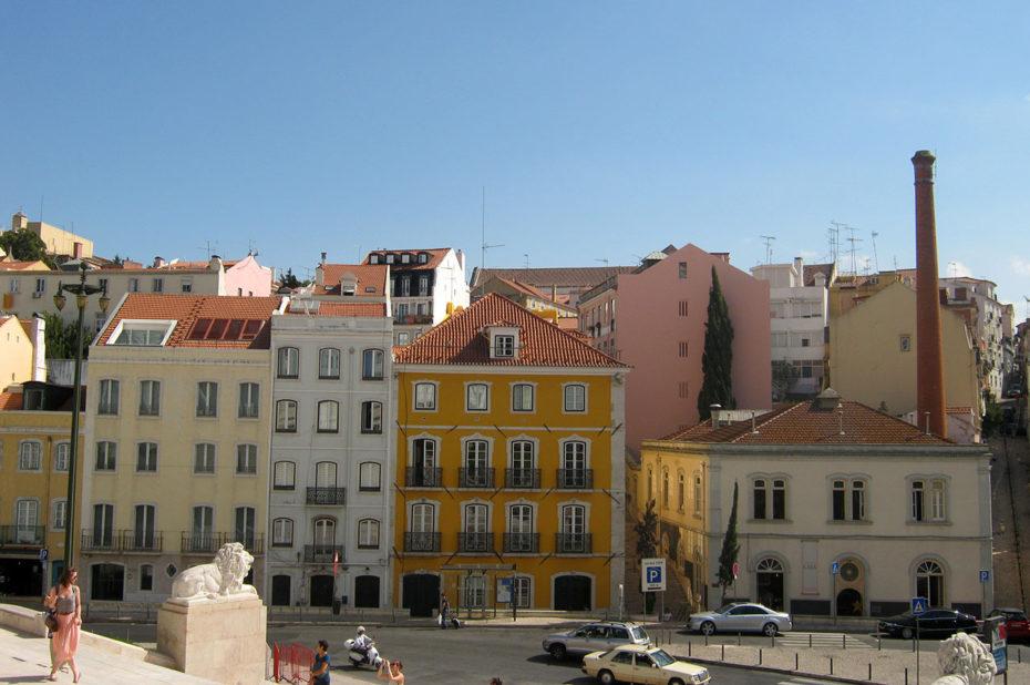 Vue sur Lisbonne depuis le Palais de São Bento
