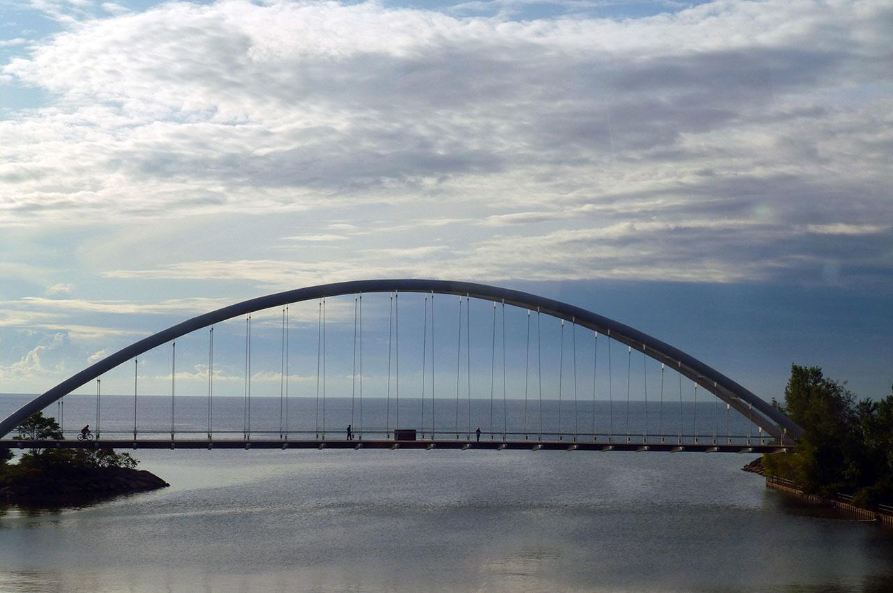Le pont de la rivière Humber