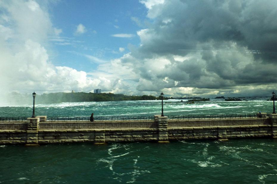 Les aménagements des chutes du Niagara ont permis de limiter l'érosion