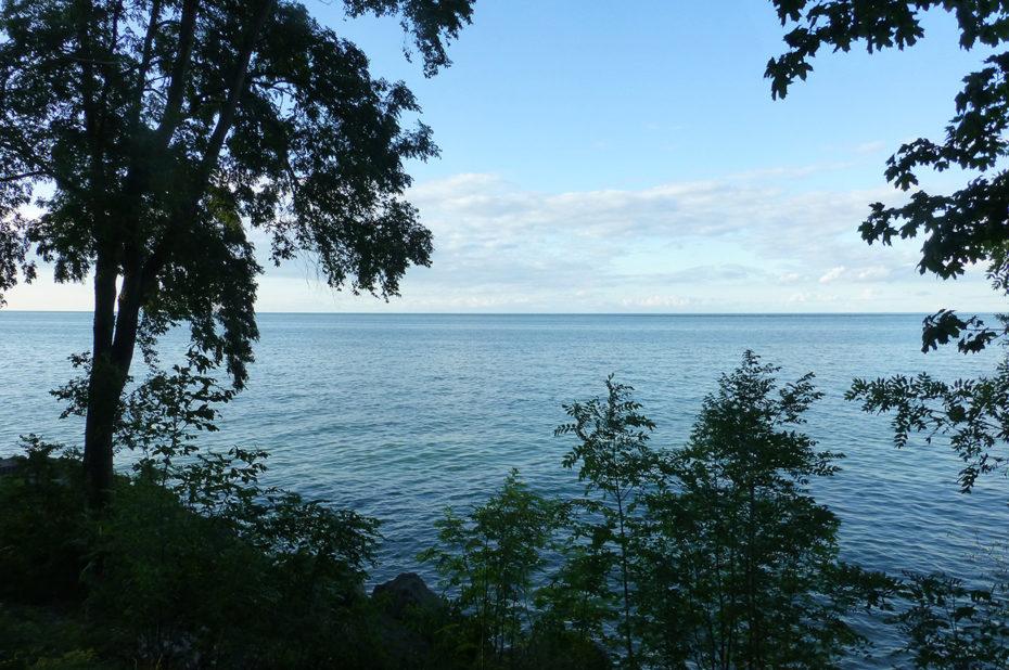 Au bord du lac Ontario