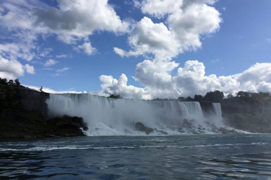 Les chutes américaines (ou American Falls)