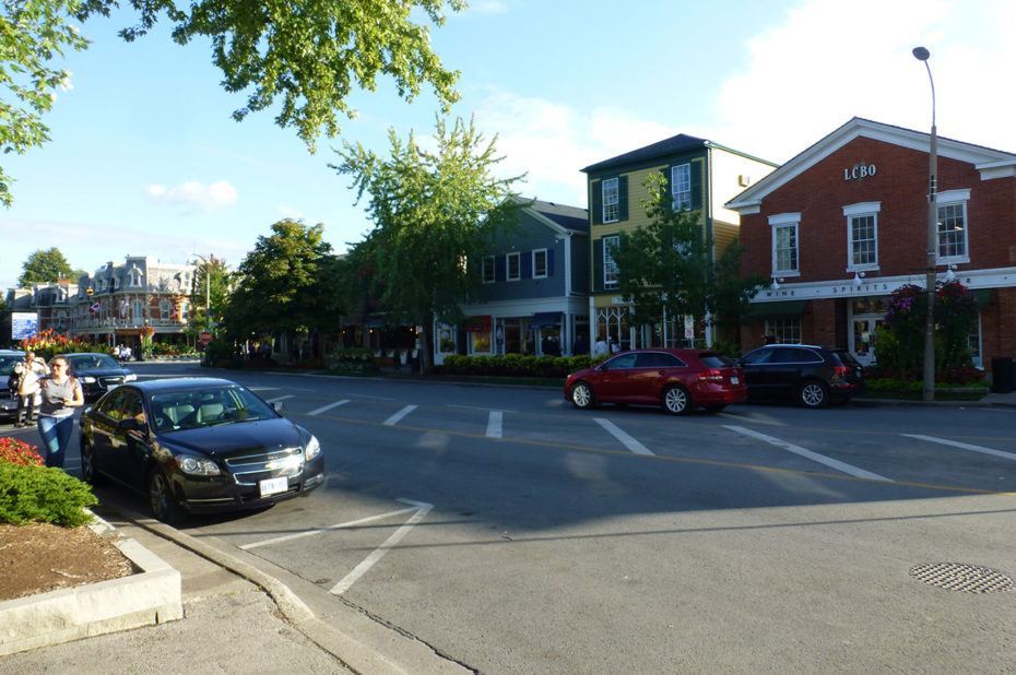 Dans les rues de Niagara-on-the-Lake