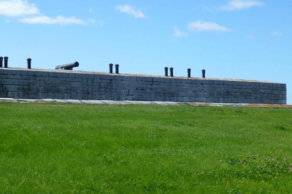 Le fort Henry a été construit pour prévenir une attaque américaine sur la pointe Henry