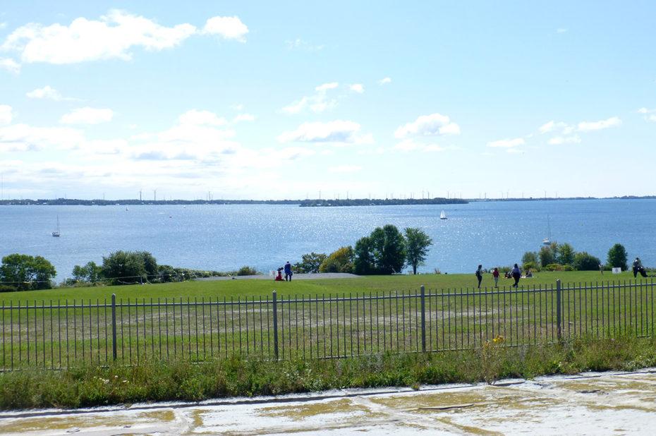 Vue sur le fleuve Saint-Laurent depuis le Fort Henry