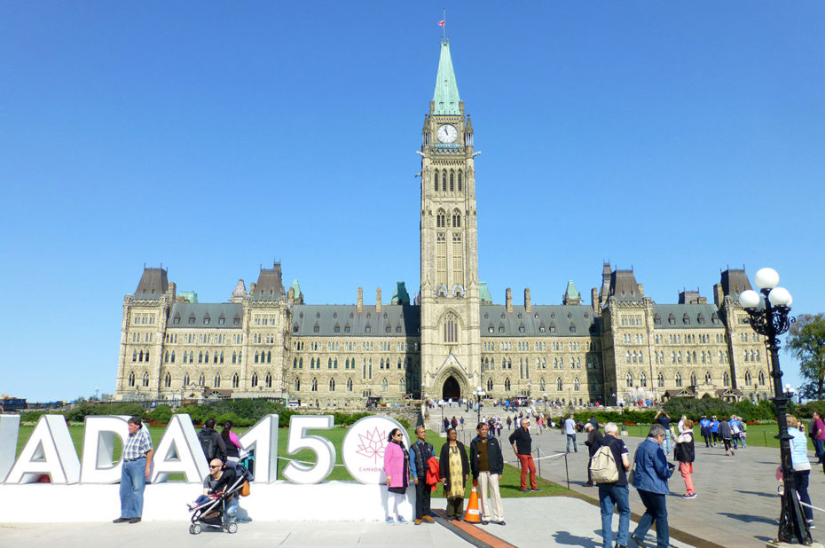 Pour le 150e anniversaire du Canada