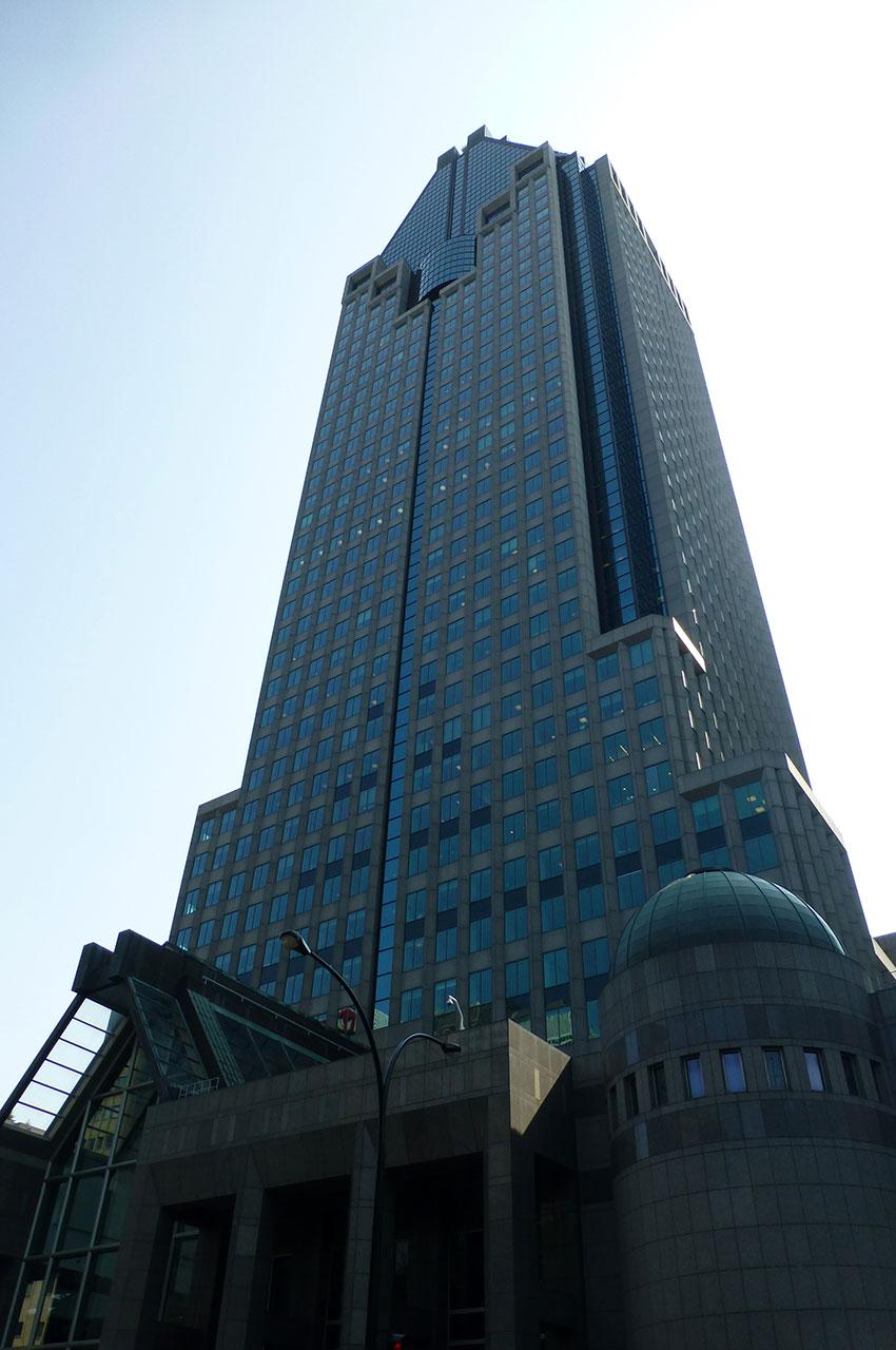 Building sis au 1000 rue de Gauchetière