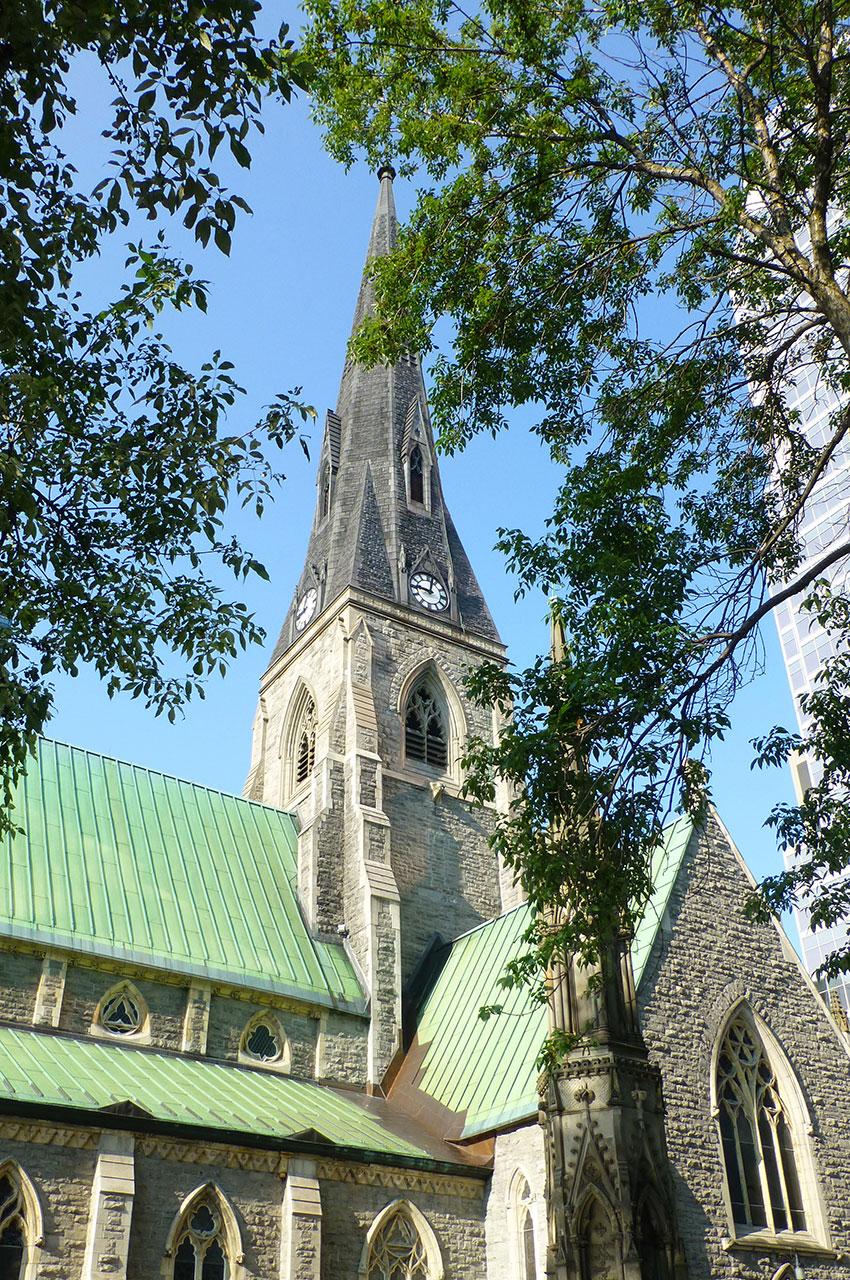 Le clocher de la cathédrale Christ Church
