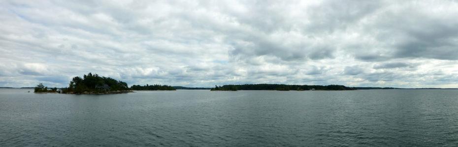 Croisière dans les mille îles sur le Saint-Laurent