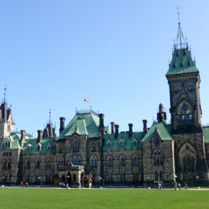 L'édifice est du Parlement d'Ottawa