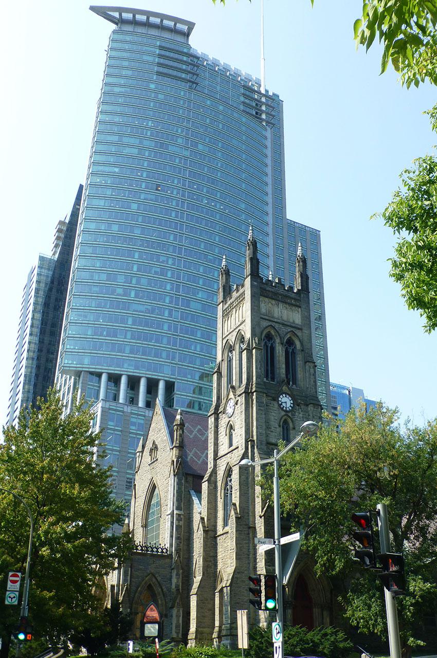 L'église anglicane Saint-Georges a été construite en 1870