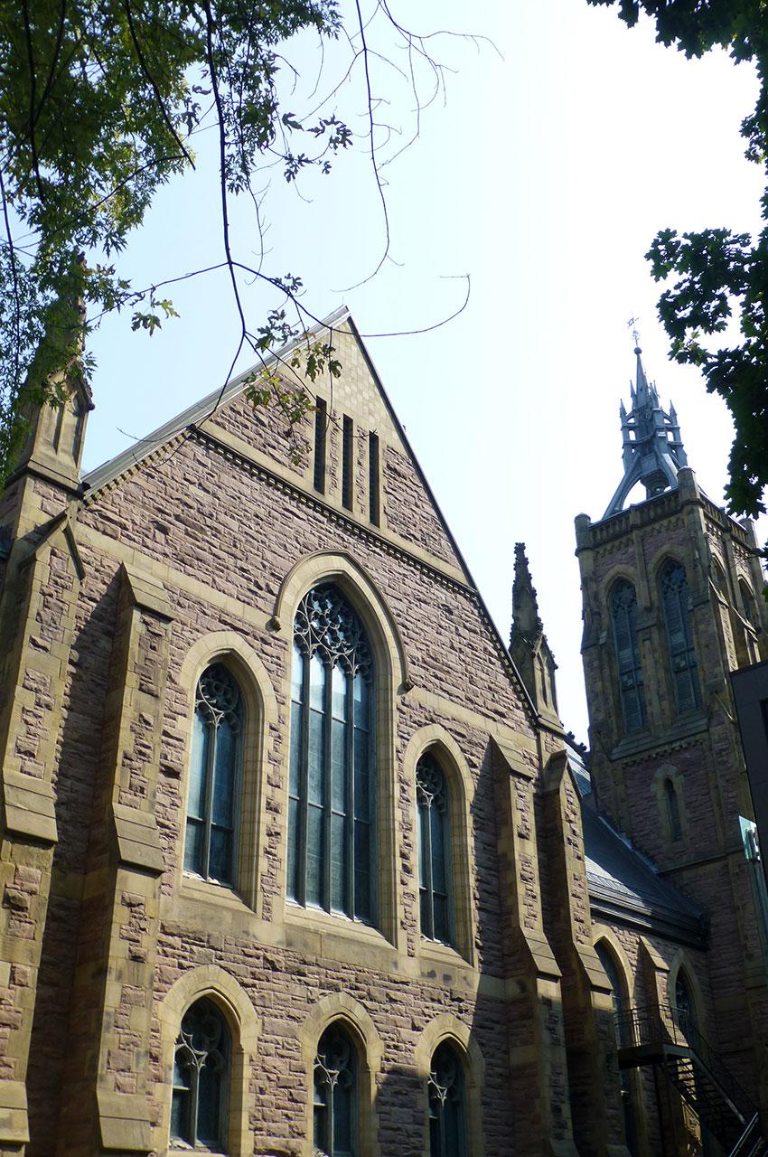 L'église Saint-James est la 2e église protestante du Canada