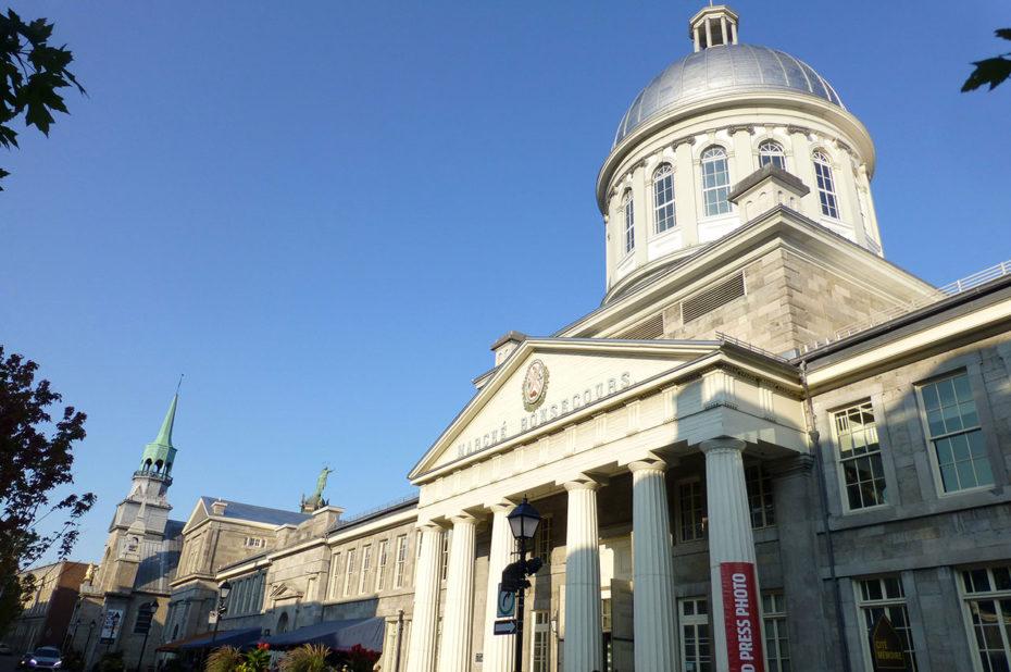 Le marché Bonsecours, symbole de la modernité du Vieux-Montréal