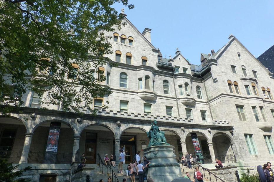 L'Université McGill où l'on étudie le droit, la médecine et l'ingénierie