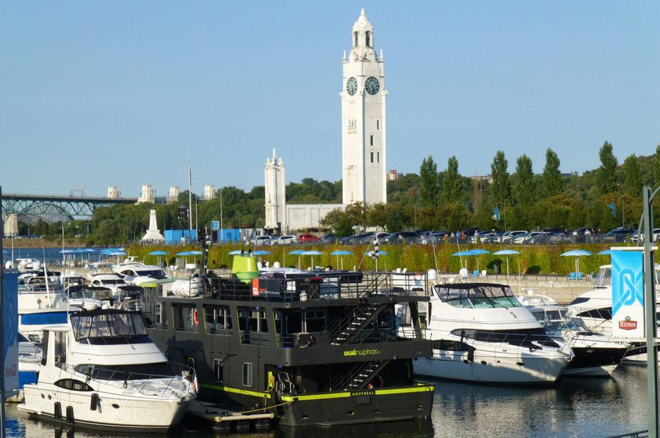 Le Vieux-Port et la tour de l'Horloge