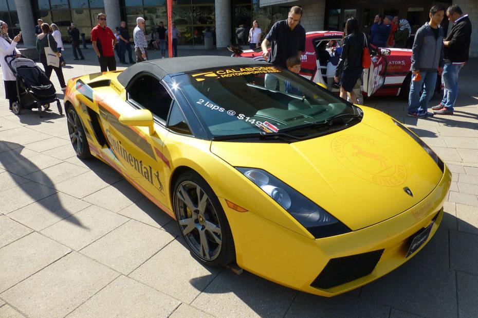 De belles voitures du luxe comme cette Lamborghini jaune