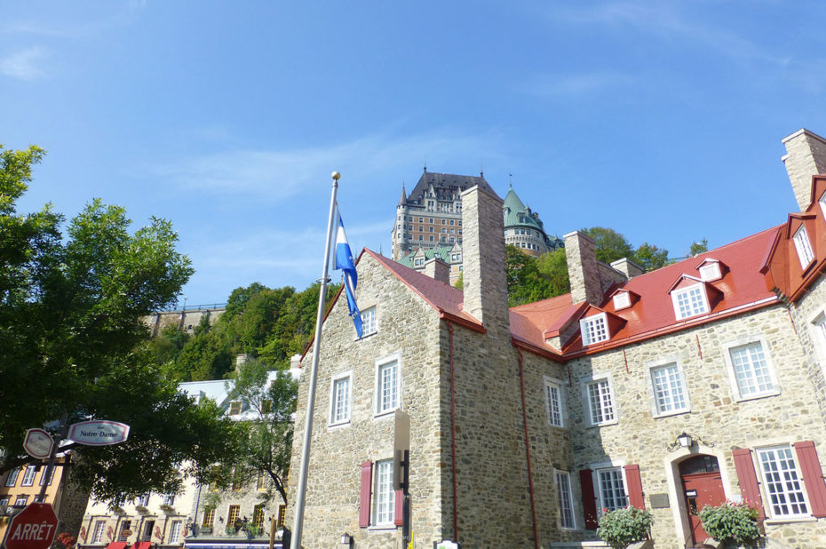 Dans la Basse-Ville du Vieux-Québec