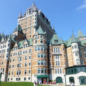 Le château Frontenac, sur la Haute-Ville de Québec