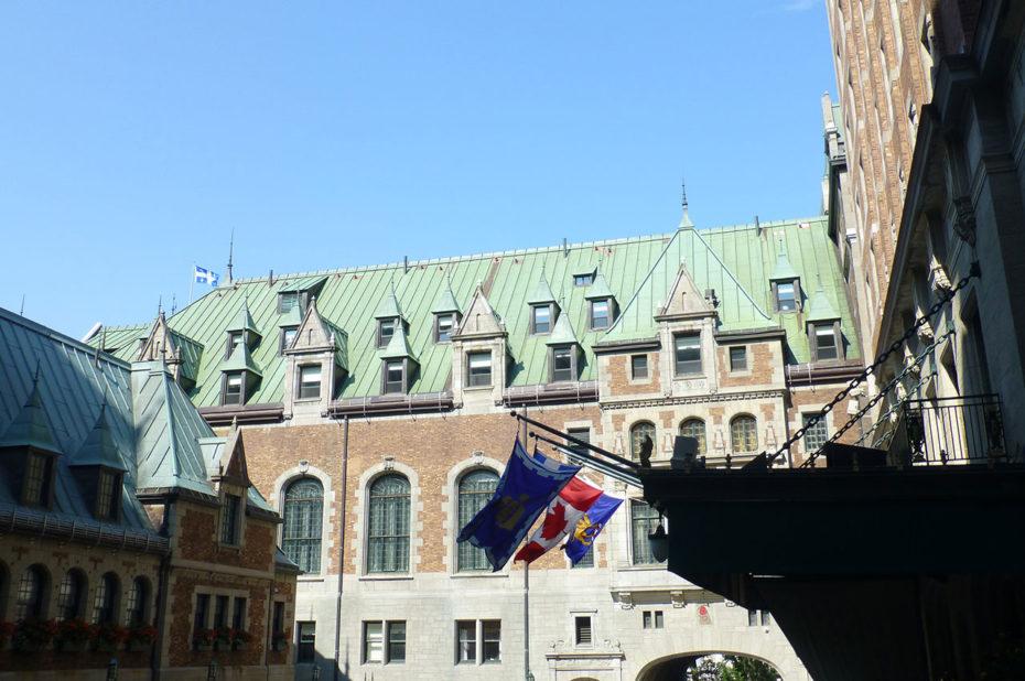 Au cœur de l'hôtel de luxe qu'est le château Frontenac