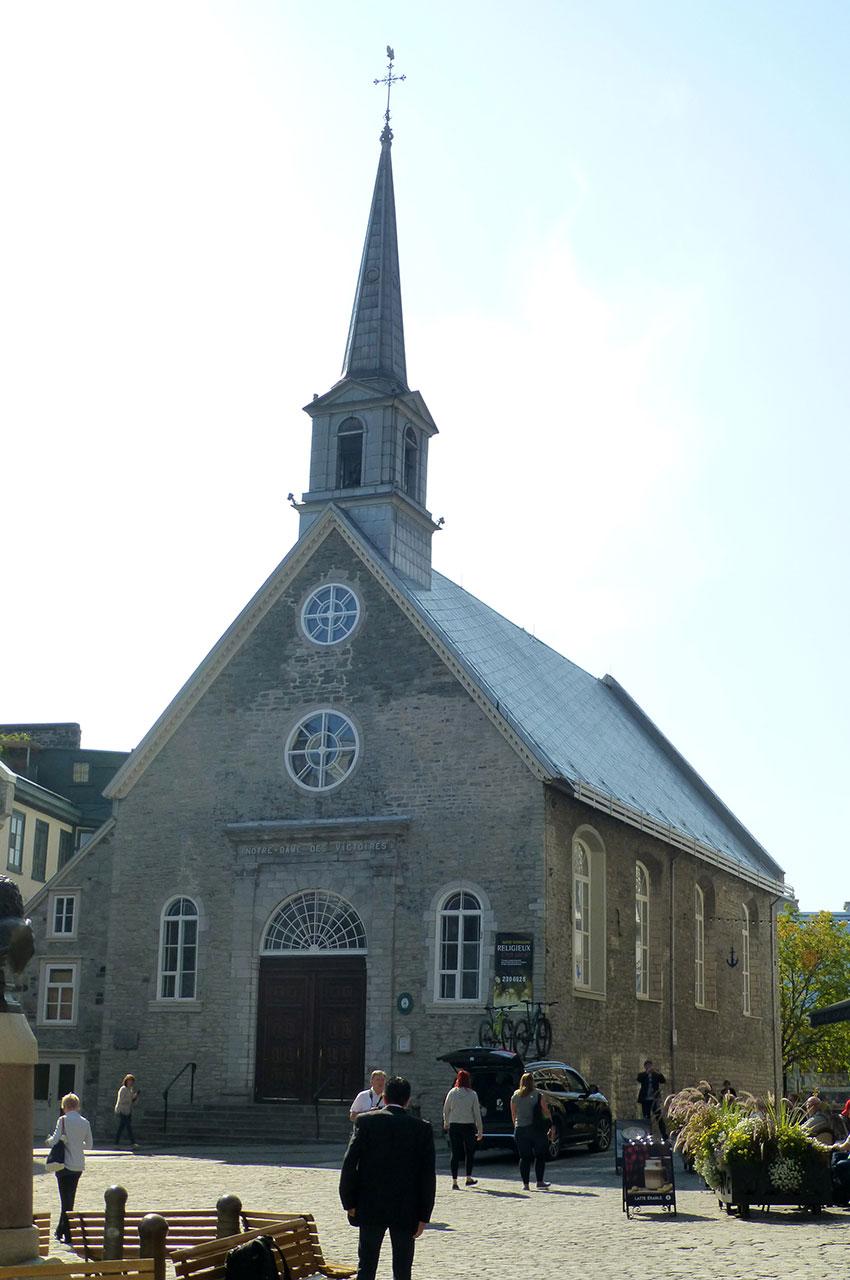 L'église Notre-Dame des Victoires date de 1690
