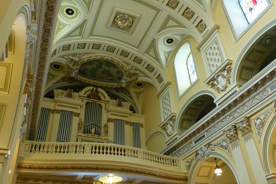 L'orgue de la basilique-cathédrale