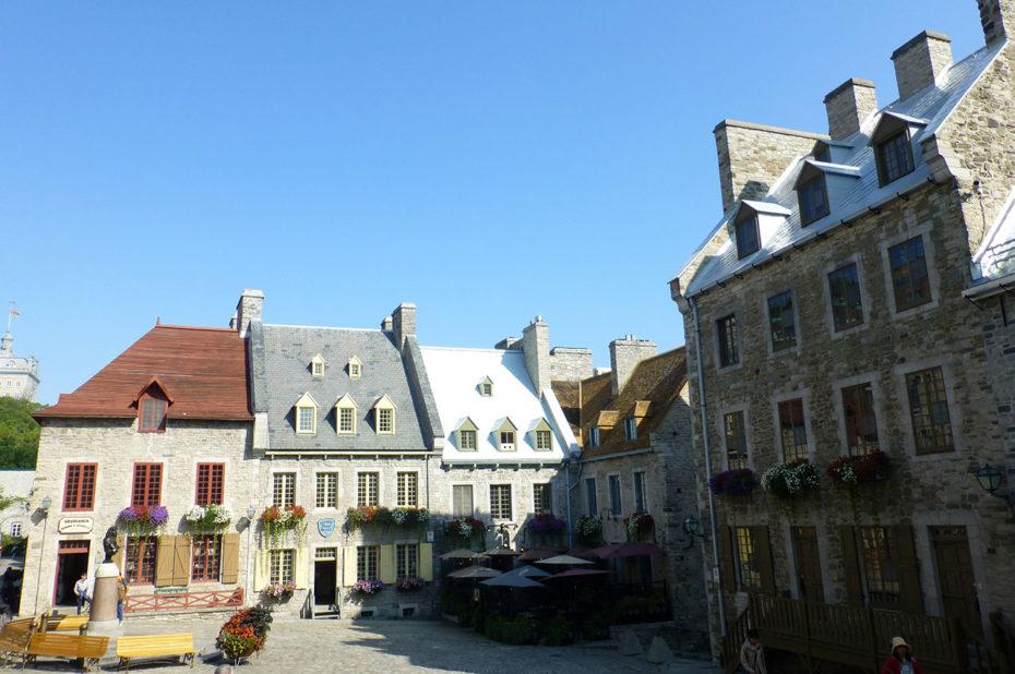 La Place Royale, le berceau de la civilisation française en Amérique