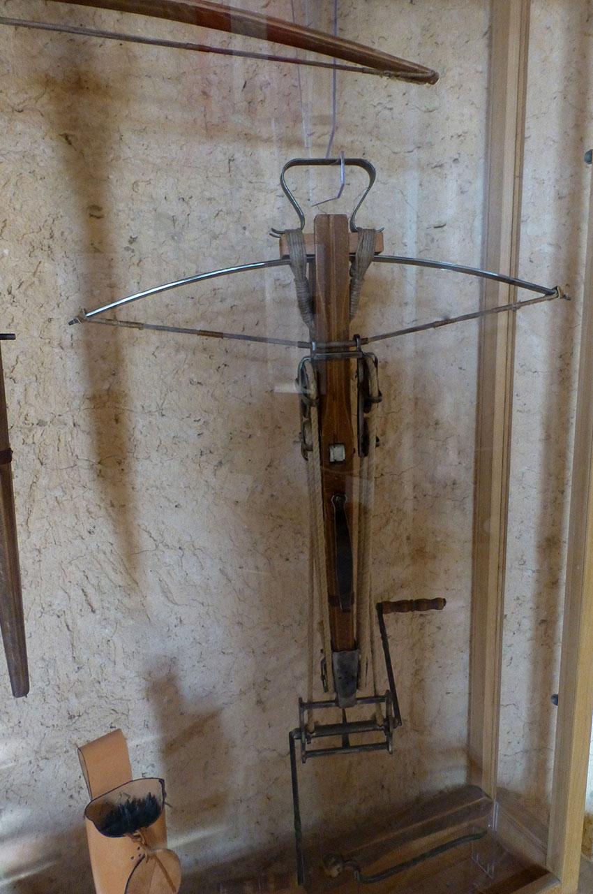 Des arbalètes élaborées faisaient partie de l'équipement militaire médiéval