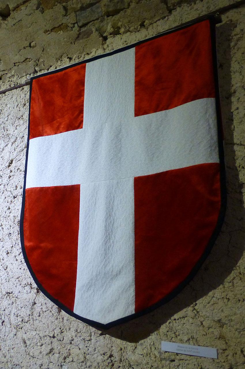 Blason de Savoie dans le musée du château
