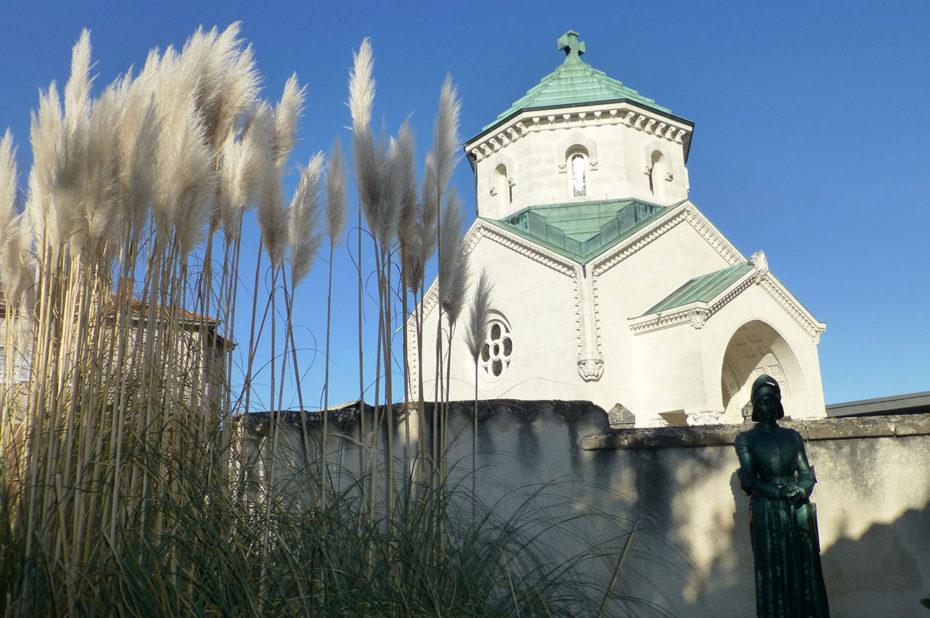 La chapelle du Cœur abrite la relique du cœur du Saint-Curé d'Ars