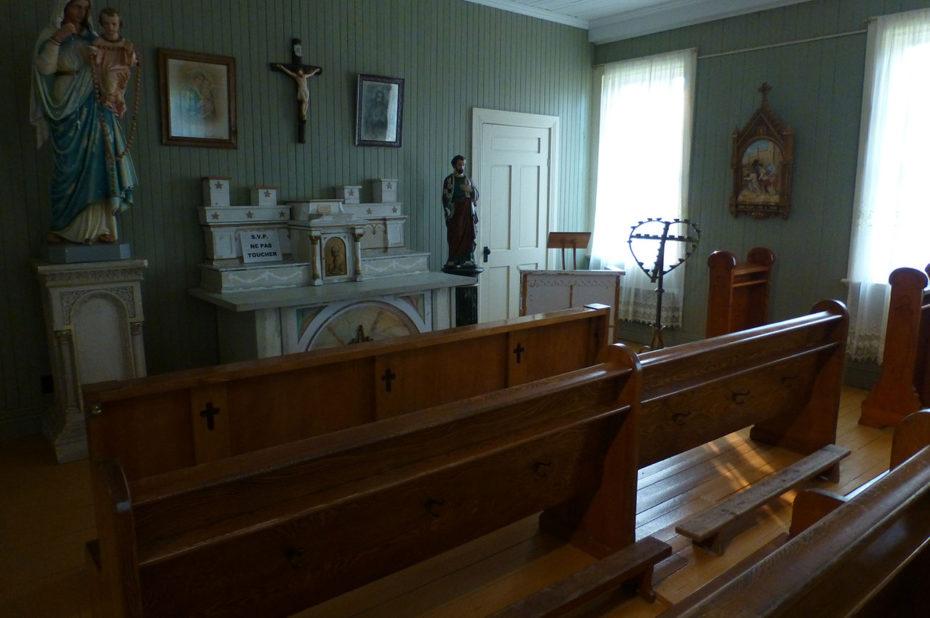 La chapelle où les Sœurs venaient prier