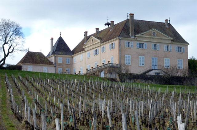 Le château des Bois à Sologny