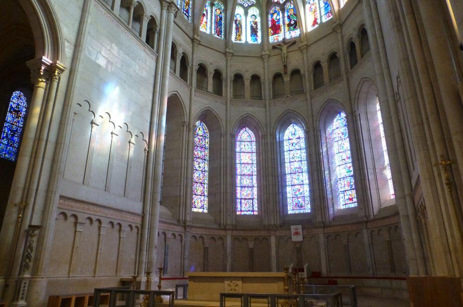 Dans le chœur de la cathédrale Saint-Jean