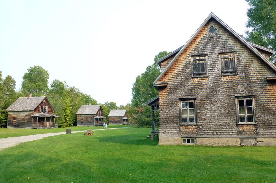 Au cœur du village fantôme de Val-Jalbert