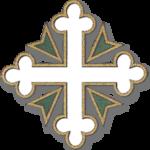 Croix tréflée blanche de l'ordre de Saint-Maurice