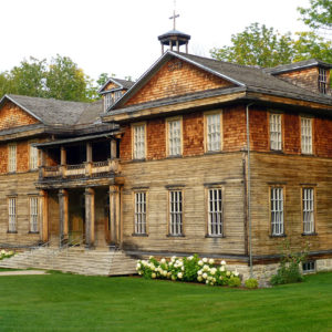 L'école du village-fantôme de Val-Jalbert