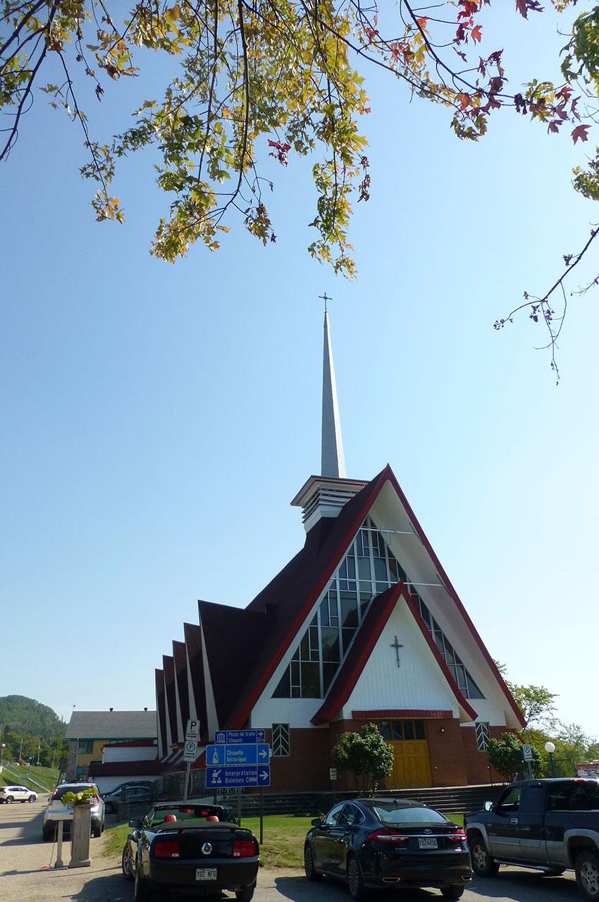 Église de Sainte-Croix à Tadoussac