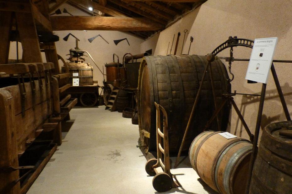 Les instruments nécessaires à la vinification