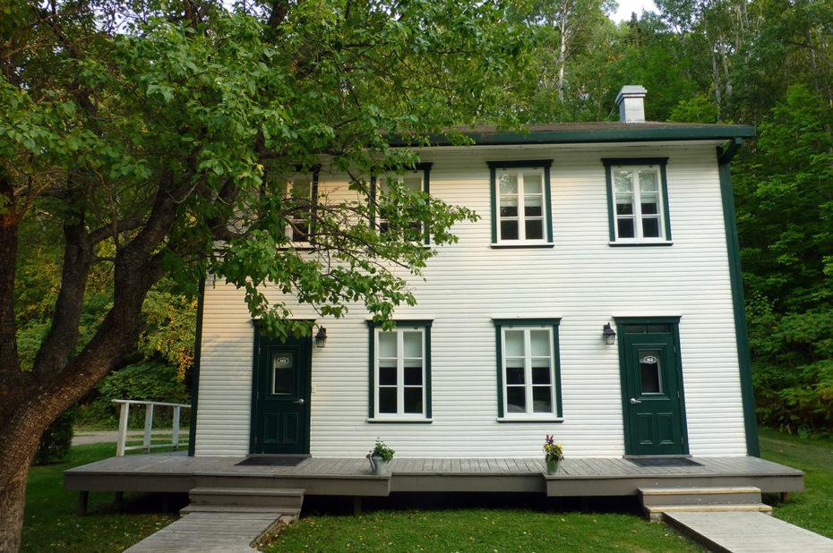 Une maison récente pour héberger les visiteurs à Val-Jalbert