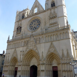 La Primatiale Saint-Jean de Lyon