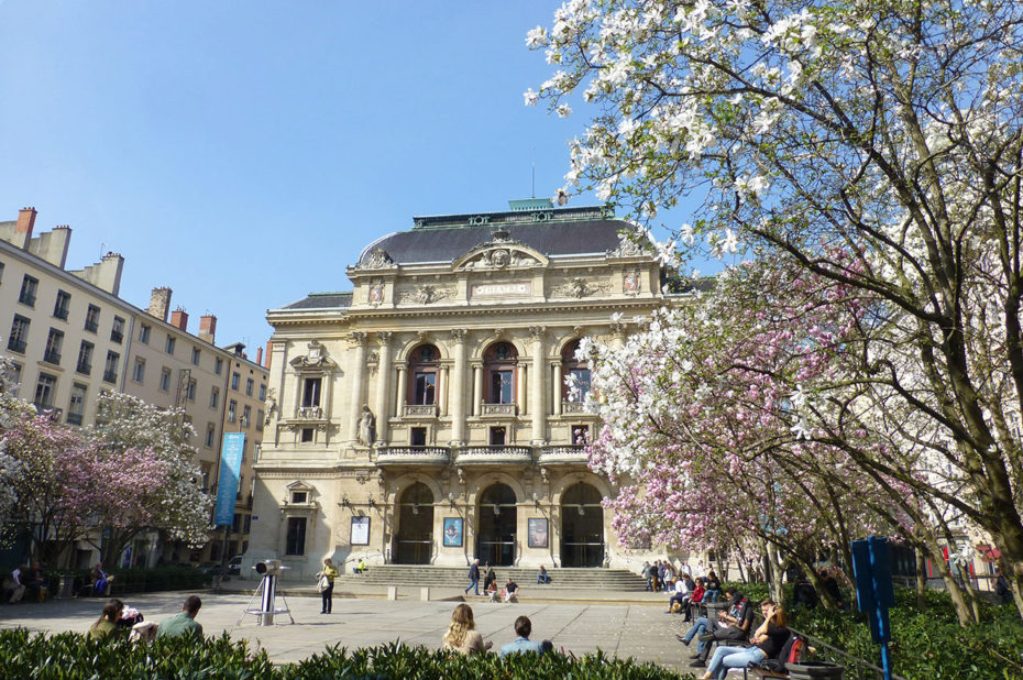 Le théâtre des Célestins de Lyon a été entièrement rénové en 2003