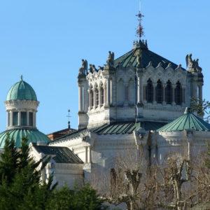 Basilique d'Ars-sur-Formans, village du Saint Curé