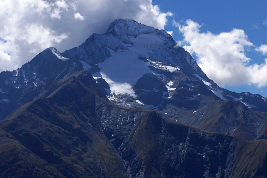 La Roche de la Muzelle qui culmine à 3 465 m