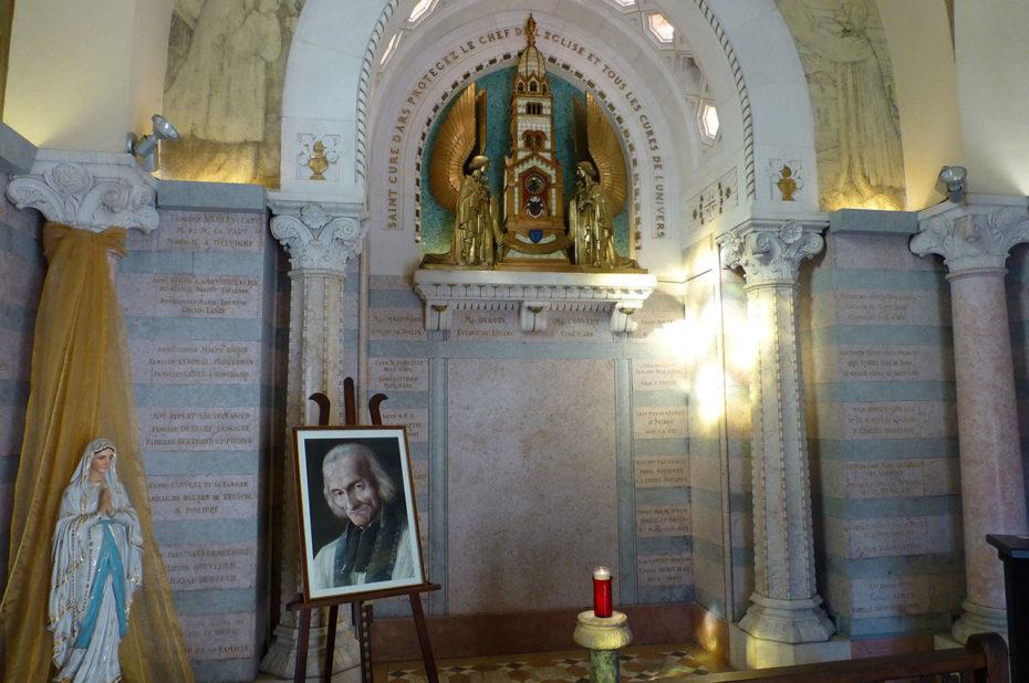 Sanctuaire dédié au Saint Curé d'Ars