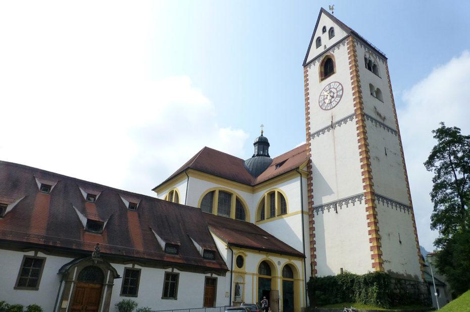 L'Abbaye bénédictine Saint-Magne de Füssen
