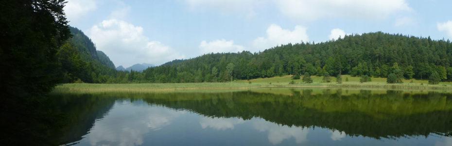 Balade autour du lac Weissensee