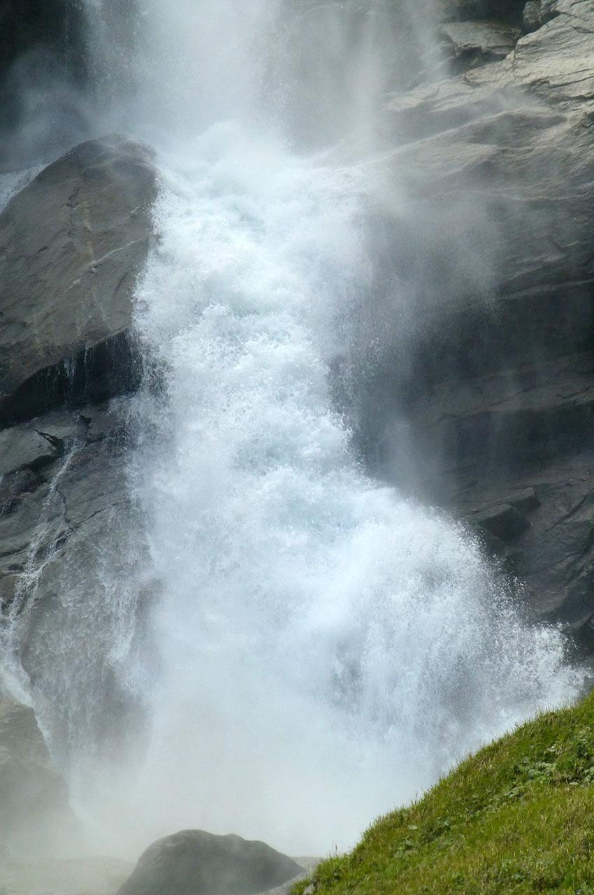 L'écume des cascades de Krimml