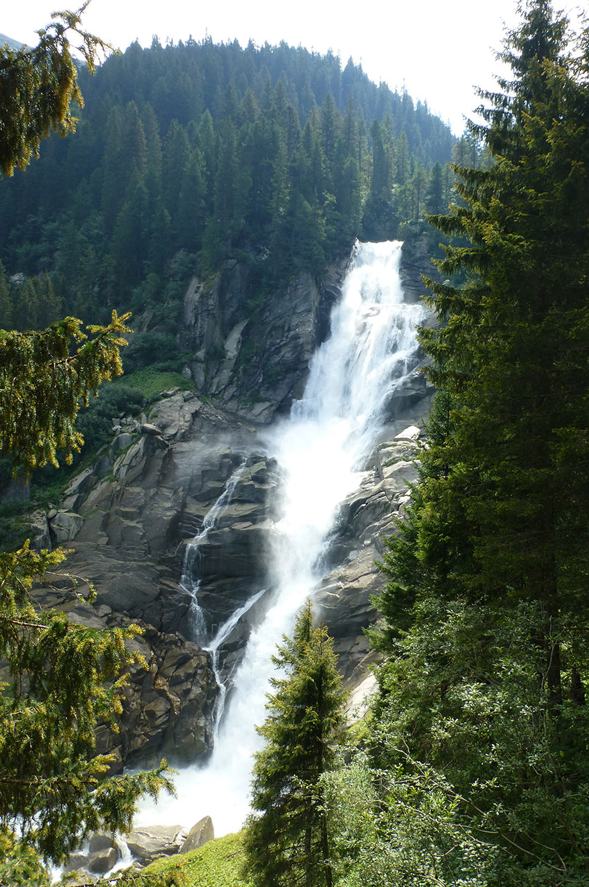 Les cascades de Krimml, un des joyaux du parc Hohe Tauern
