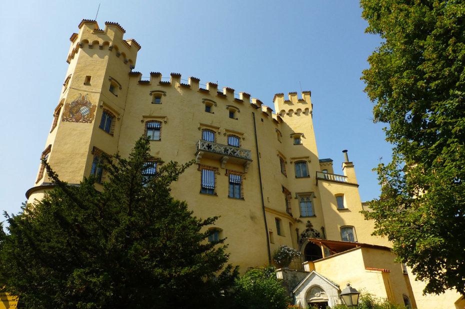 Château de Hohenschwangau ou château du Haut Pays du Cygne