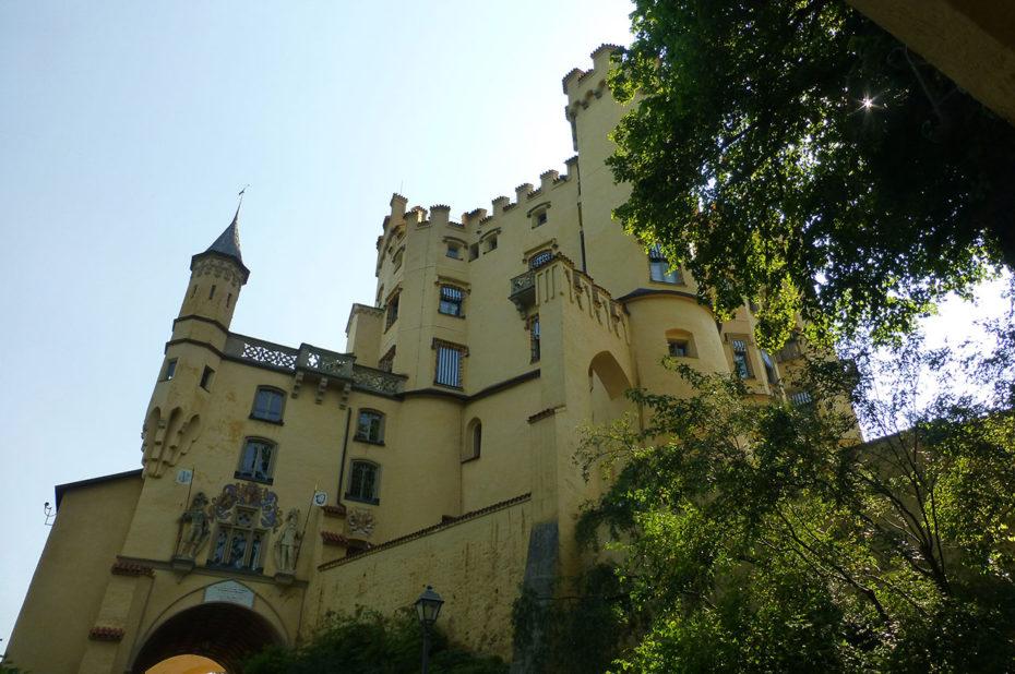 Le château de Hohenschwangau, construit par Maximilien II